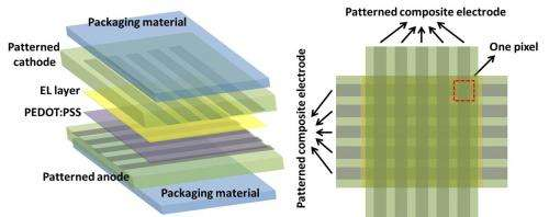 Engineers develop a stretchable, foldable transparent electronic display (w/ Video)