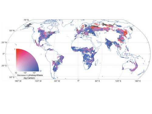 Extreme weather events fuel climate change