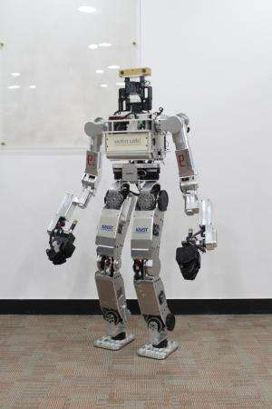 KAIST's HUBO ready for DARPA's robotics challenge trials