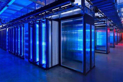 AP PHOTOS: Where your online data get stored