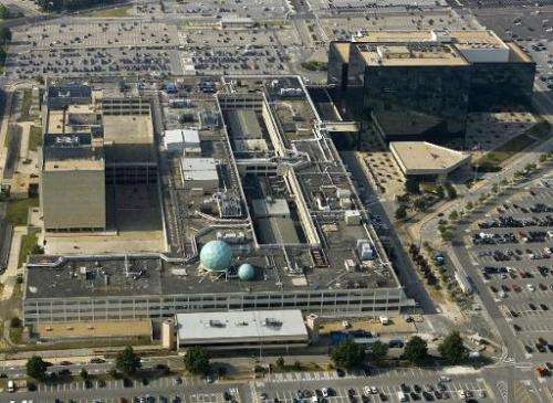 The National Security Agency (NSA) in Fort Meade, Maryland is pictured on May 31, 2006