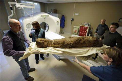 US museum unwrapping mummy's story with CT scan