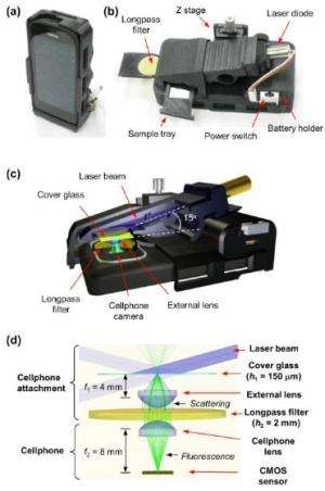 Researchers' smartphone 'microscope' can detect a single virus, nanoparticles