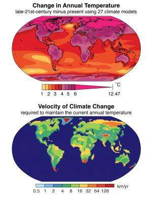 Climate change occurring 10 times faster than at any time in past 65 million years