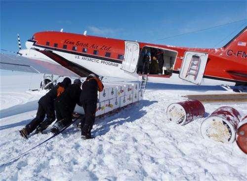 Deep Antarctic dig seeks pointers to sea level