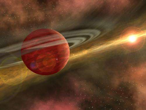 Astronomers discover planet that shouldn't be there