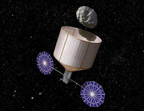 NASA considering capturing and placing asteroid into moon orbit