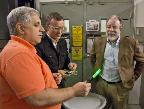 Scientists developing a novel system for verifying nuclear warheads