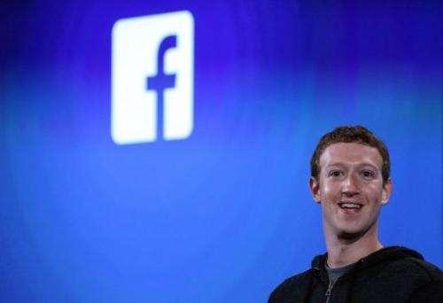 Facebook CEO Mark Zuckerberg speaks during an event at Facebook headquarters on April 4, 2013 in Menlo Park, California