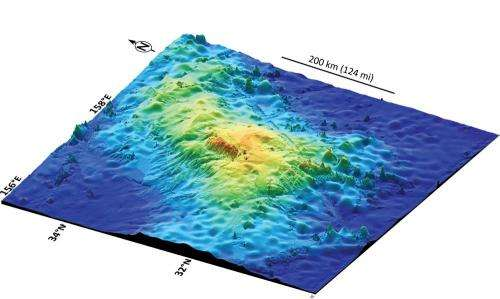 Scientists confirm existence of largest single volcano on earth