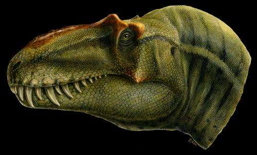 Newly discovered predatory dinosaur 'king of gore' reveals the origins of T. rex