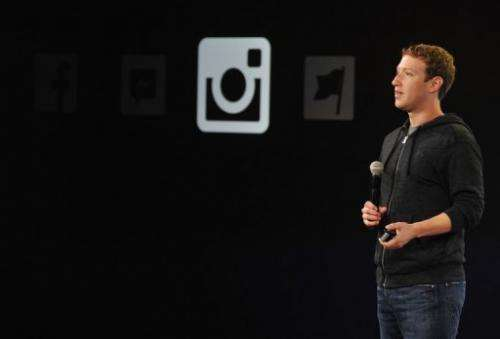 Facebook CEO Mark Zuckerberg speaks at Facebook's corporate headquarters in Menlo Park, California on June 20, 2013