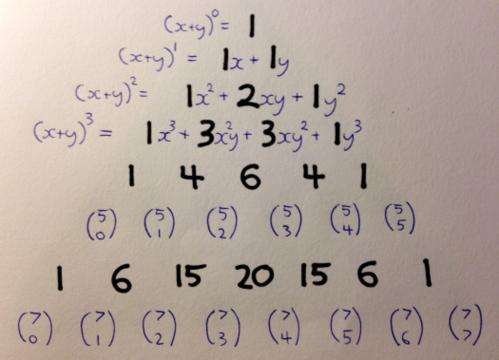 The 12 days of Pascal's triangular Christmas