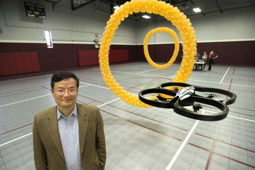 University of Minnesota researchers control flying robot with only the mind