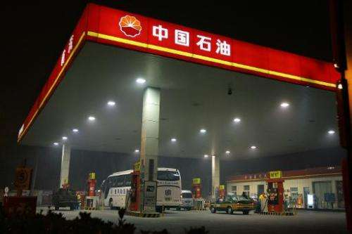A Chinese government-backed environmental group said Friday it has launched legal action against state-owned oil giant PetroChin