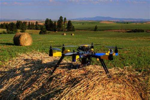 Agriculture the most promising market for drones