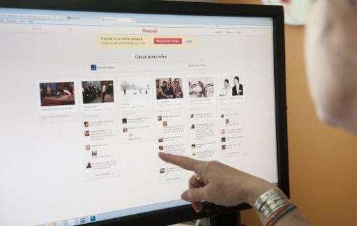 A journalist works online June 13, 2012