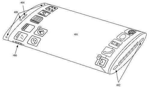 Apple patents iPhone with wraparound display