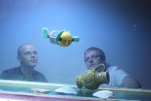 A robot turtle will help underwater archaeologists to inspect shipwrecks