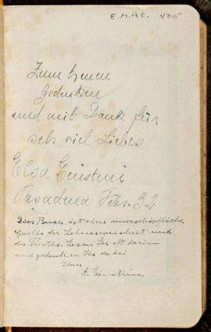 Bible signed by Einstein sells for $68,500 in NYC