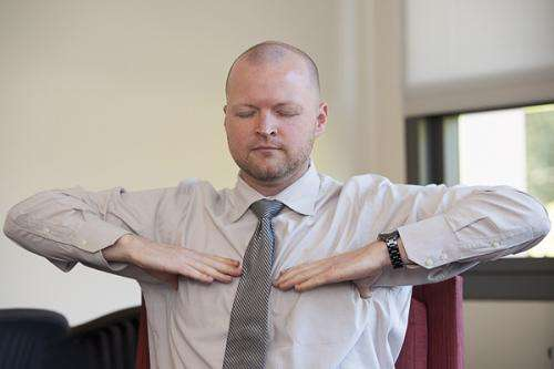 Breathing exercises help veterans find peace after war, scholar says