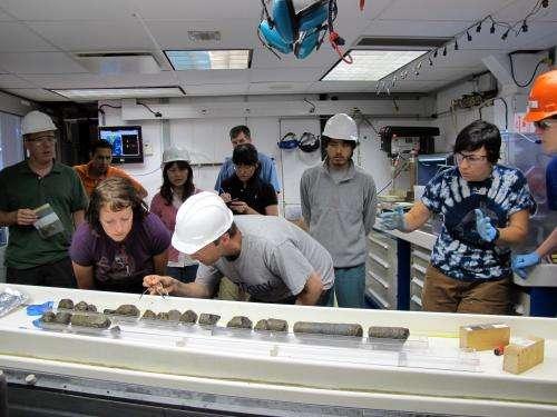 Breathing underwater: Evidence of microscopic life in oceanic crust
