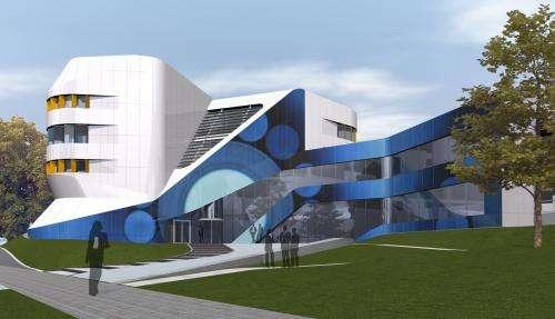 Bringing color to solar façades