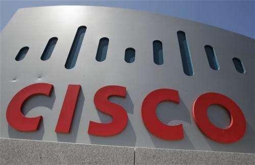 Cisco's 1Q revenue falls below estimates
