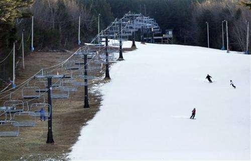 Climate contradiction: Less snow, more blizzards