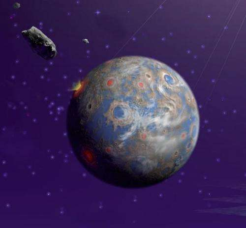 CU study provides new evidence ancient asteroid caused global firestorm on Earth