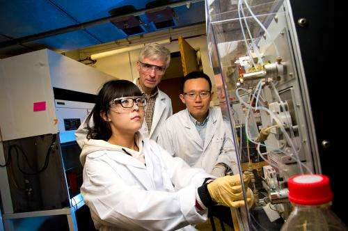 Device speeds concentration step in food-pathogen detection