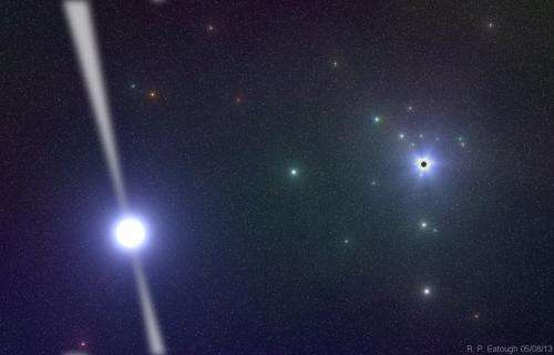 Newly found pulsar helps astronomers explore Milky Way's mysterious core
