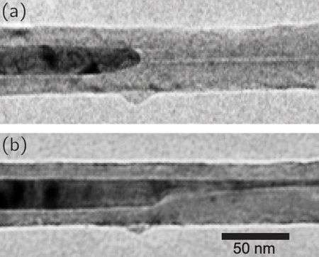 Researchers discover nanocrystals able to squeeze through nanotubes without changing