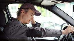 Drowsy driving an increasing hazard, say medical experts