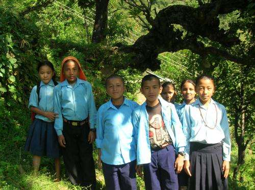 American, Nepalese children disagree on social obligations with age