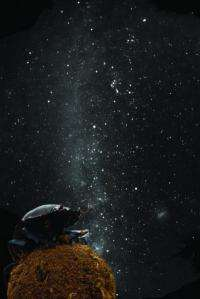Dung beetles follow the milky way