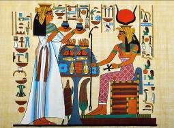 """Ancient """"Egyptian blue"""" pigment points to new telecommunications, security ink technology"""