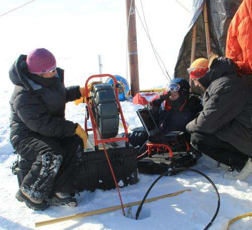 Enormous aquifer discovered under Greenland ice sheet