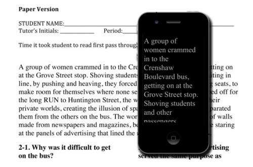 E-readers more effective than paper for dyslexic readers