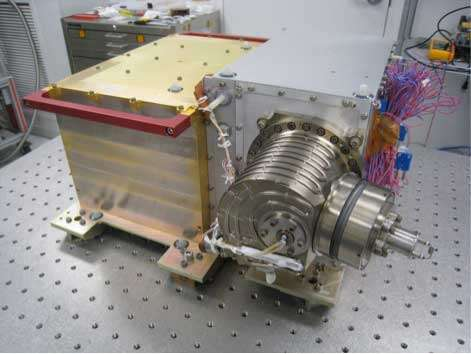 Final MAVEN instrument integrated to spacecraft