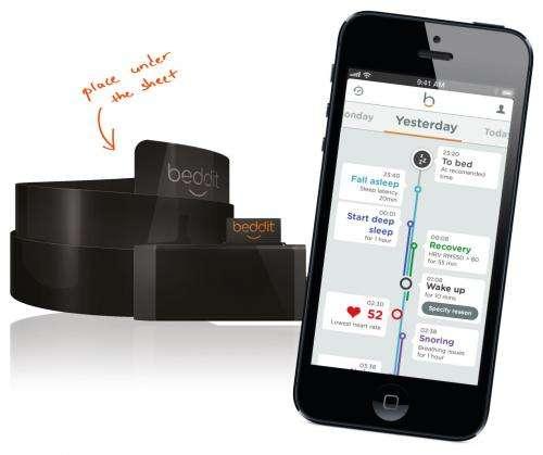 Finland team has bed sensor to measure sleep