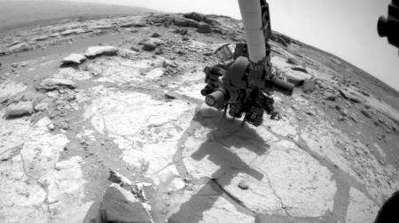 First rock dating experiment performed on Mars