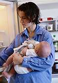 Four in 10 babies given solid foods too early, study finds