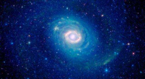 Galaxy's Ring of Fire