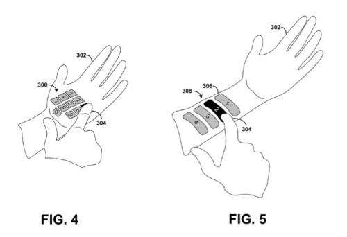 Google Glass may run with laser-projected keyboard