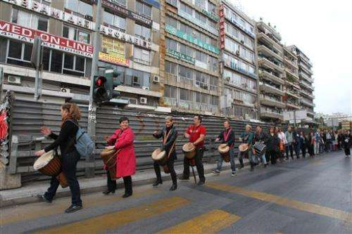 Greeks hope to save ancient road on subway site