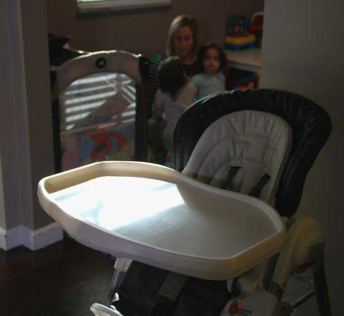 High chair-related injuries to children on the rise