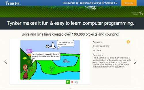 Tynker brings programming lessons into the home
