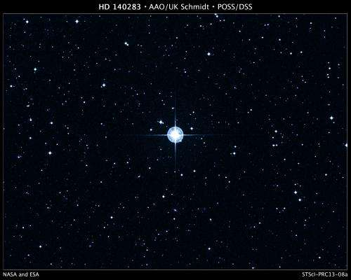 Hubble finds birth certificate of oldest known star