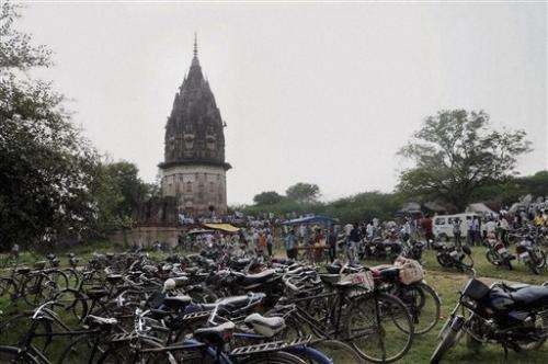 India digs for treasure on tip from Hindu holy man